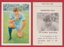 Coventry City Ernie Machin